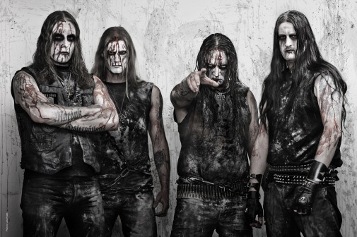 Marduk' march 2012<br /><br /><br /><br /> Left to right: Morgan, Lars, Mortuus, Devo